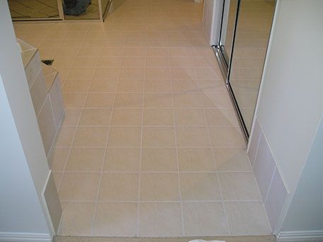 tile and grout cleaning services - after