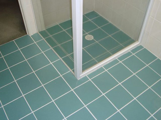 Grout Colour Sealing after