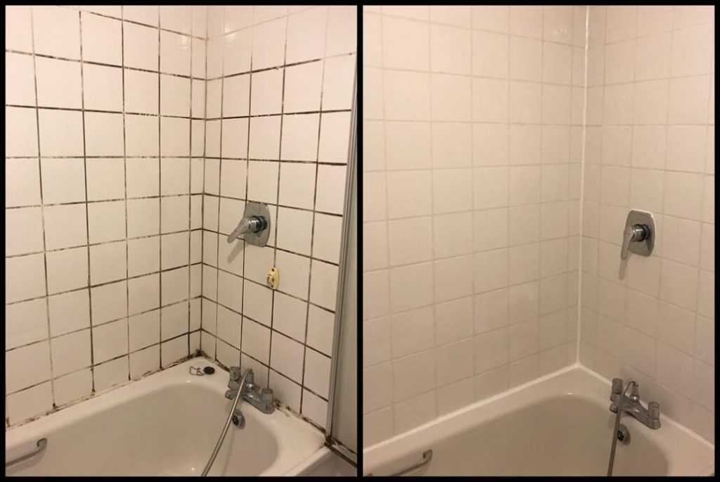 shower regrouting photo