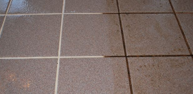 Tile and Grout Cleaning Sunshine Coast - grout only